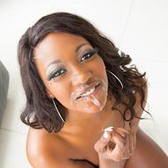 Ebony Beauty Skyler Nicole Sucking A Cock-12