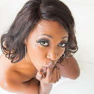 Ebony Beauty Skyler Nicole Sucking A Cock-13