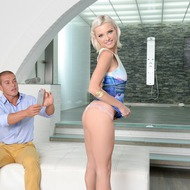 Beautiful Blonde Zazie Skymm In Hardcore Action-04