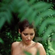 Busty Lyann Is Naked In The Forest-08