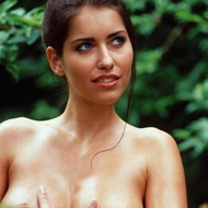 Busty Lyann Is Naked In The Forest-13