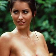 Busty Lyann Is Naked In The Forest-14