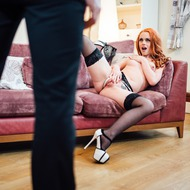 Redhead Porn Star Ella Hughes In Hardcore Action-03