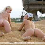 Naked country girls in lesbian love-05