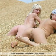 Naked country girls in lesbian love-12