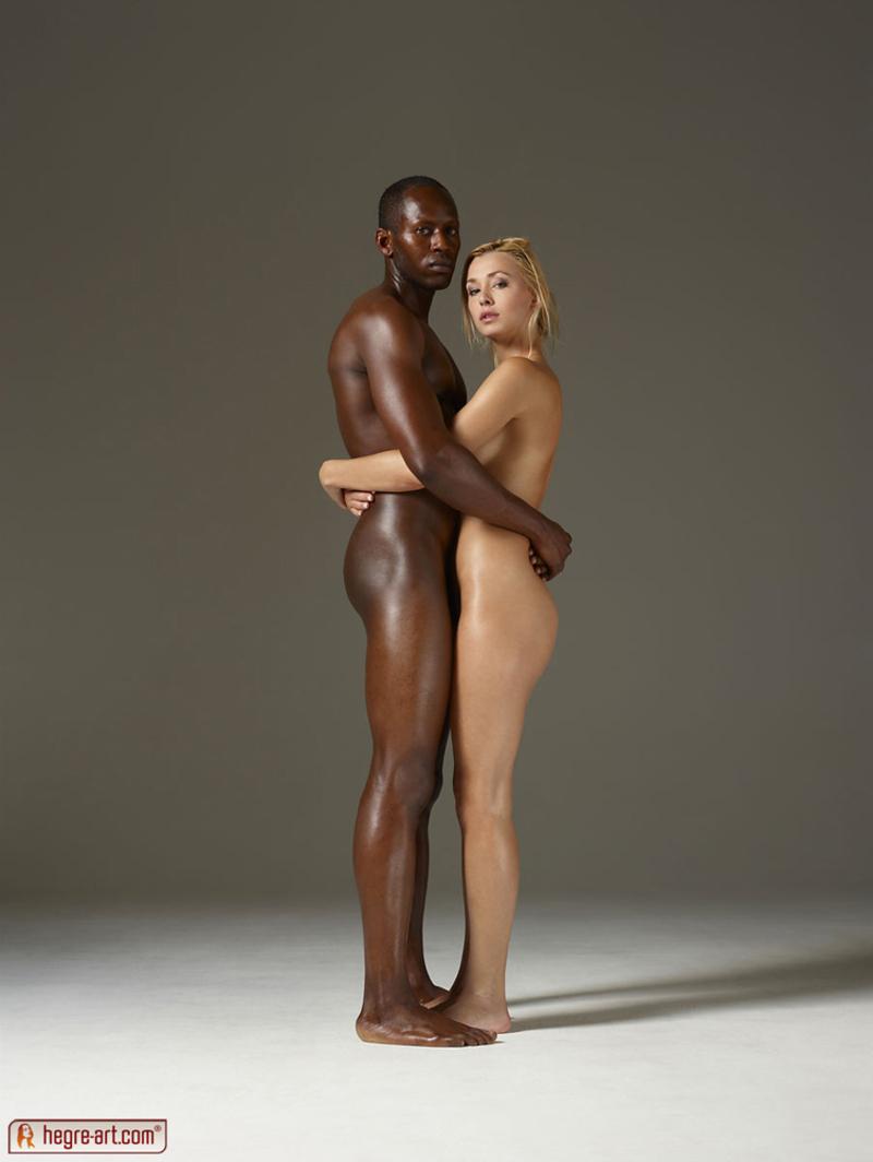 Interrecial nude art xxx scene
