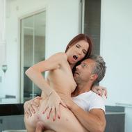 Sexy Redhead Bailey Having Sex-13