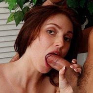 Gorgeous Teen Natalie Lust Gives Blowjob-10