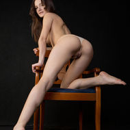 Naked Teen Exposed Her Really Hot Ass-16
