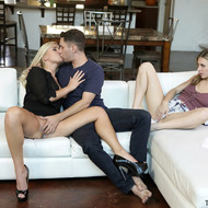 Anya Olsen And Summer Day Having Hardcore Threesome Sex-10