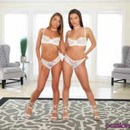 Lana Rhoades And Adriana Chechik In Foursome Action-00
