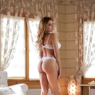 Beautiful Busty Margot Strips-00