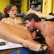 Hot Pornstar Adrian Maya Gets Pounded-05