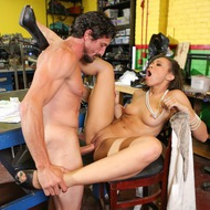 Hot Pornstar Adrian Maya Gets Pounded-13