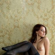 Nikia Posing In Hot Stockings-01