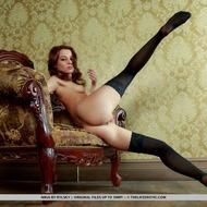 Nikia Posing In Hot Stockings-02