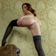 Nikia Posing In Hot Stockings-05
