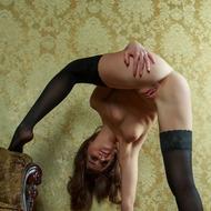 Nikia Posing In Hot Stockings-11