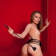 Hot Brunette Mistress-13