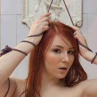 Cute Redhead Milly-06
