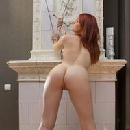 Cute Redhead Milly-15