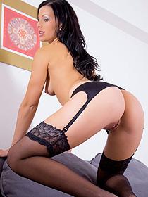 Mili Jay In Stockings