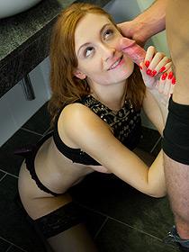 Teen Porn In The Bathroom