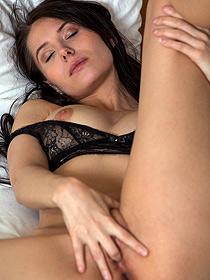 Vanessa Teasing Her Sweet Pussy