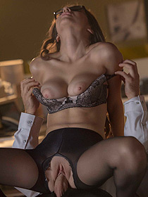 Horny Secretary Nina North