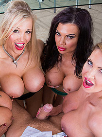 Orgy With Busty MILFs