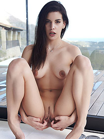 Candice Luka Posing Nude
