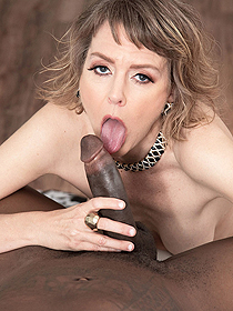 Jamie Playing With A Big Cock