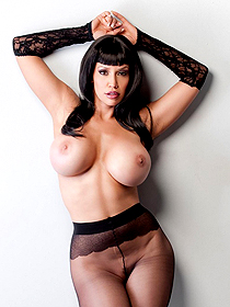 Bianca in stockings