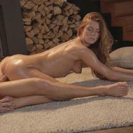 Hot Oiled Chrissy Fox Having Sex-00